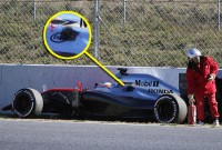 Actualizare: Monopostul McLaren găurit confirmă suspiciunile – Alonso a părăsit spitalul