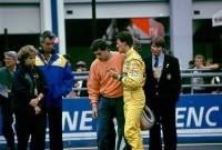 Dumnezeu, Învierea, Senna şi Schumacher