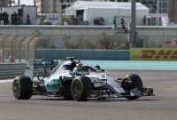 Sâmbătă în Abu Dhabi – Rosberg a şasea clasare consecutivă pe prima poziţie