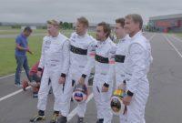 Cursă de karting între 3 campioni mondiali